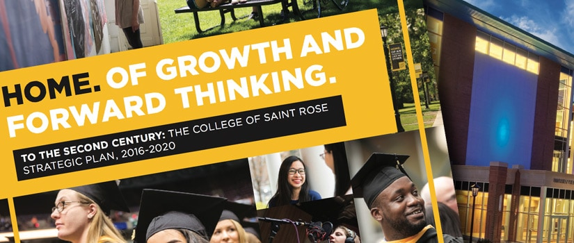 Seeing 2020: Saint Rose's Five-Point Plan for the Future
