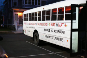 The STEAM Bus (Science, Technology, Engineering, Art, and Math)